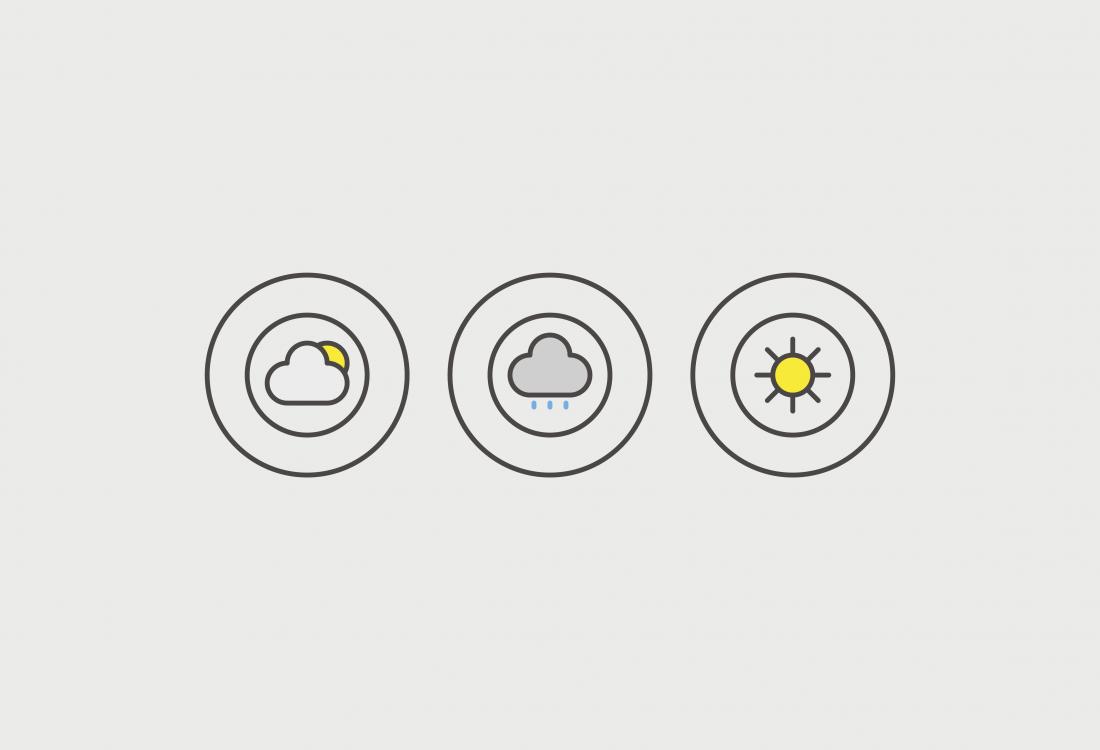 Diseño pictogramas app