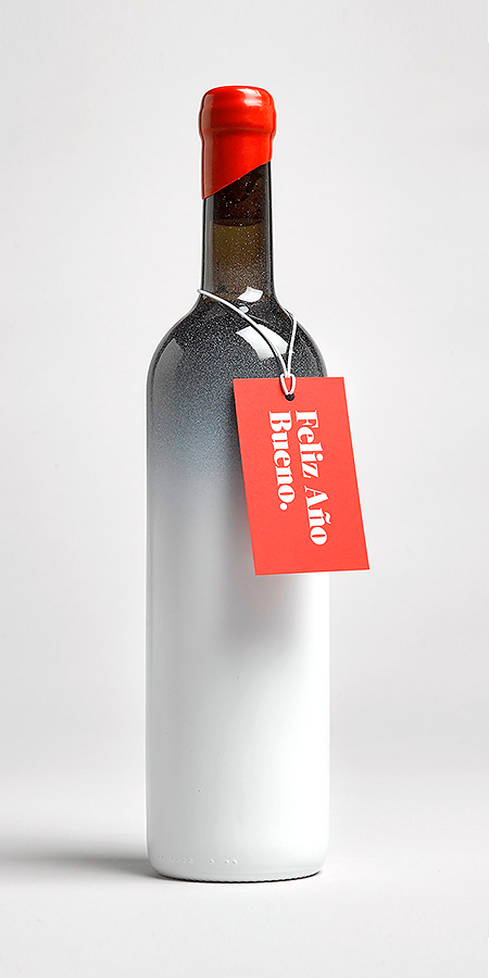 diseño botella vino valencia