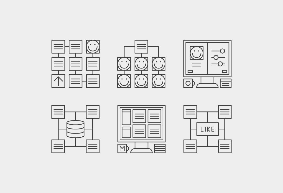 iconos startup