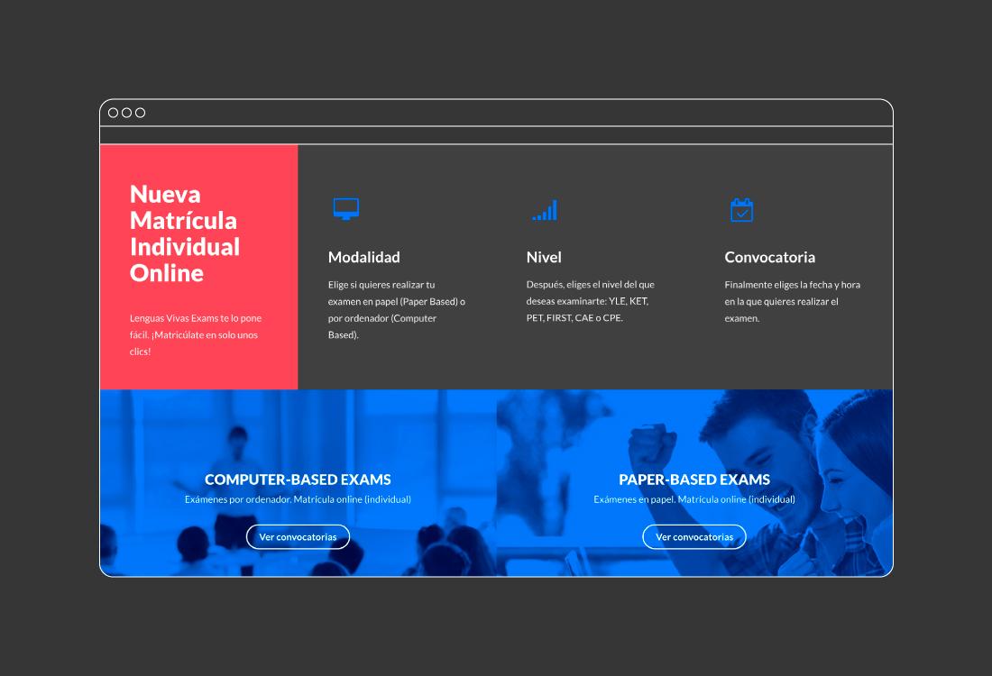 Diseño web idiomas