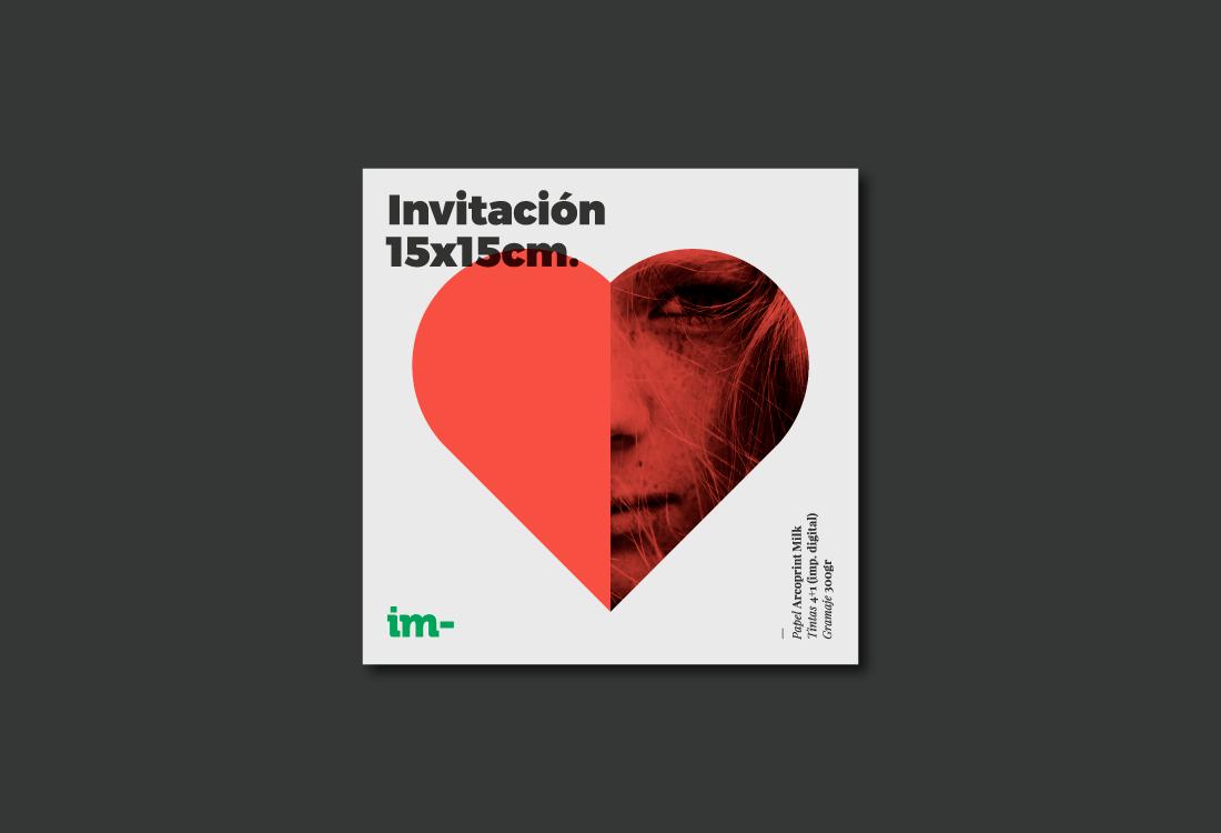 Diseño invitación Boda