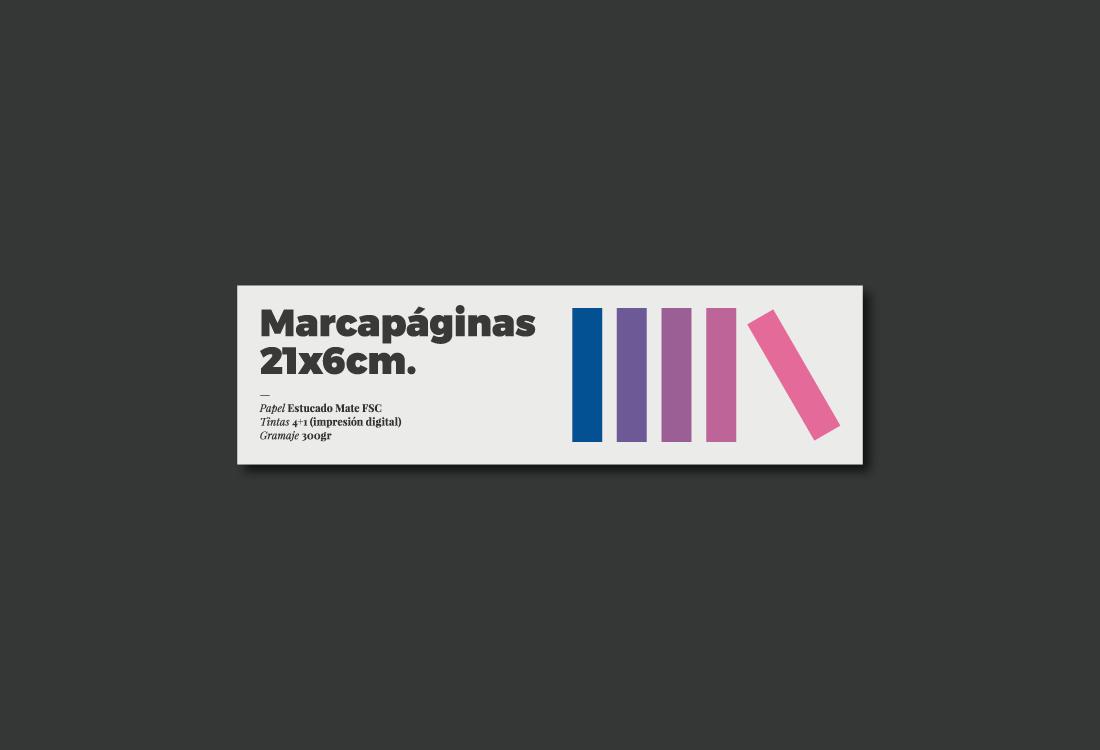 Diseño marcapáginas