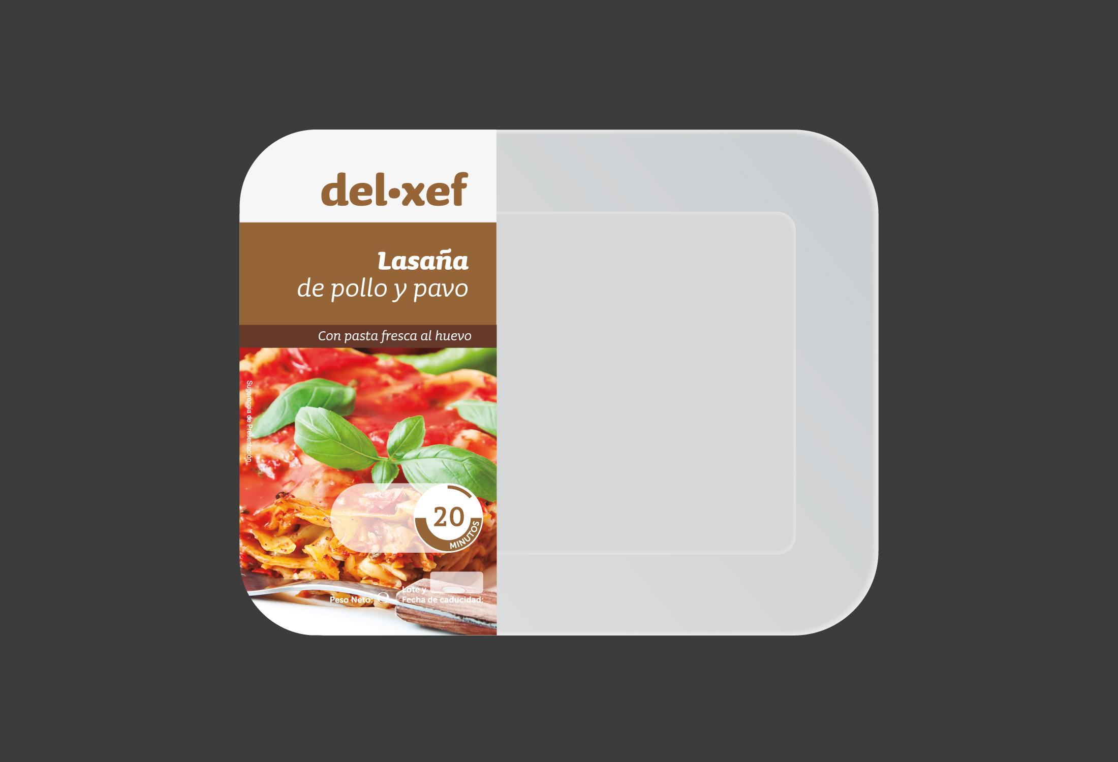 Diseño etiqueta alimentación