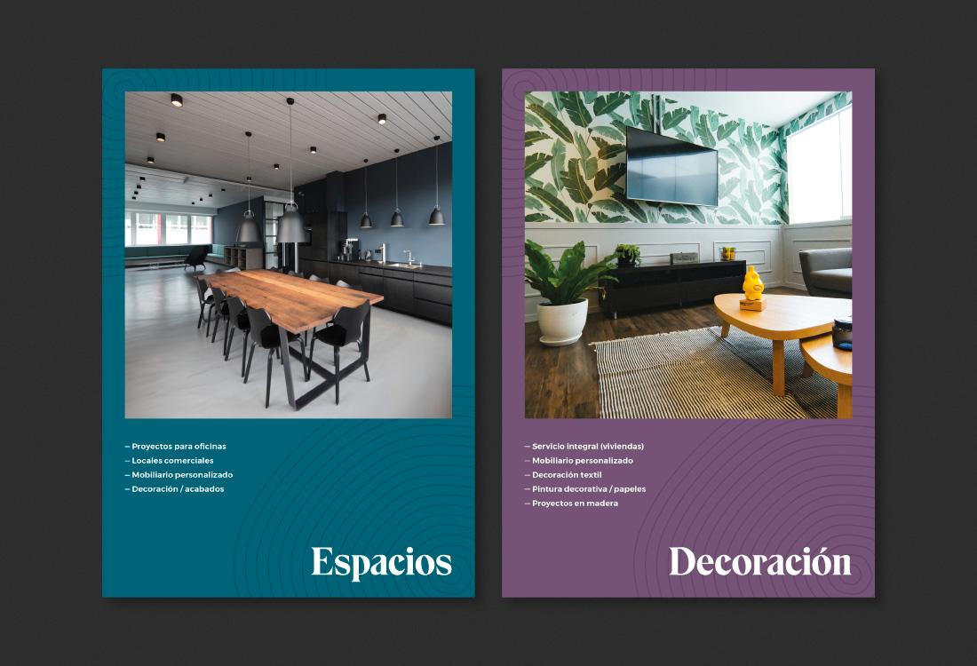 diseño catálogos interiorista