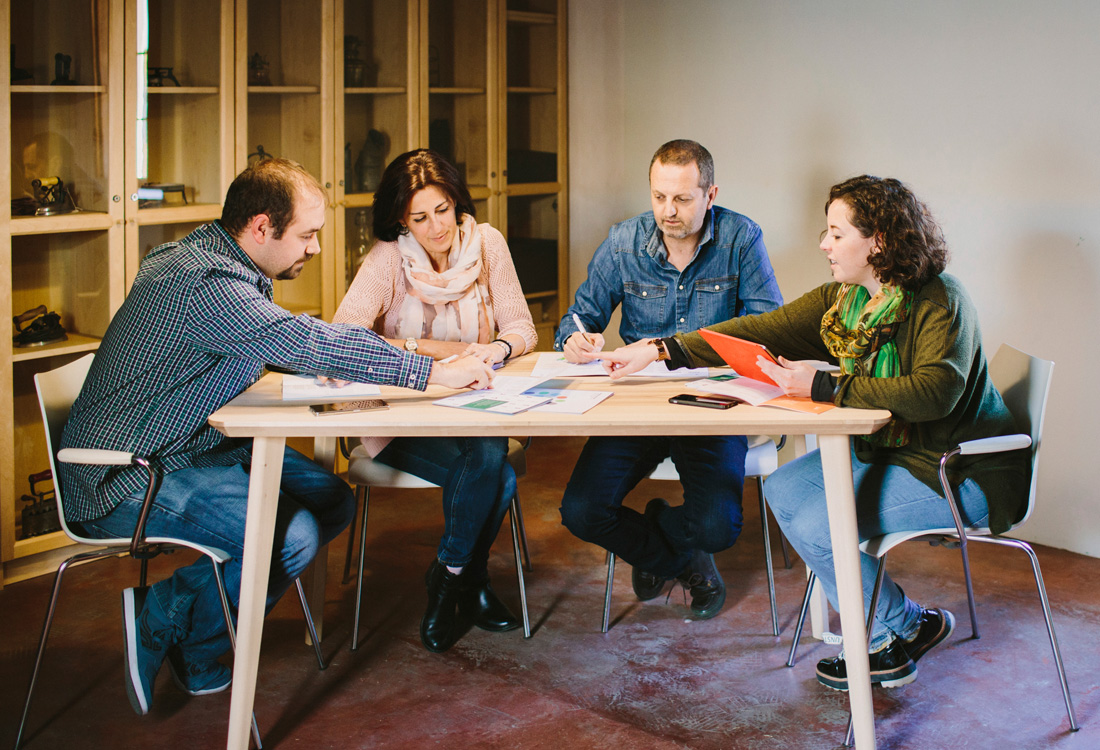 Fotografía corporativa reunión