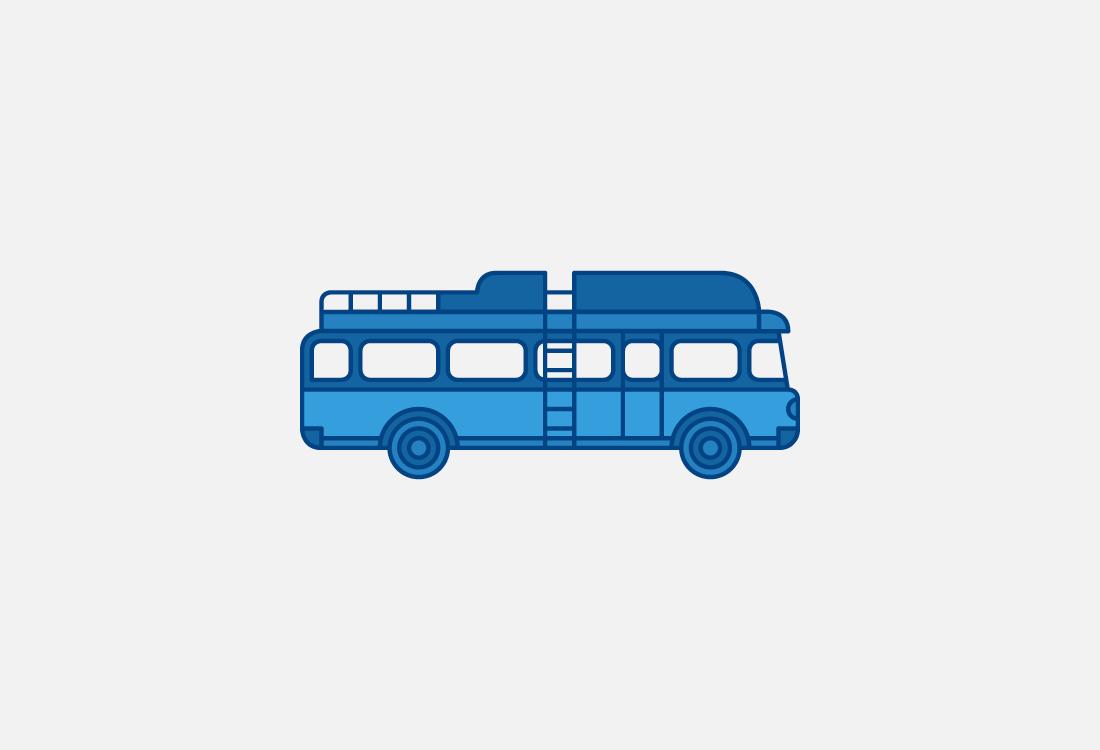 Autobús antiguo Alsa