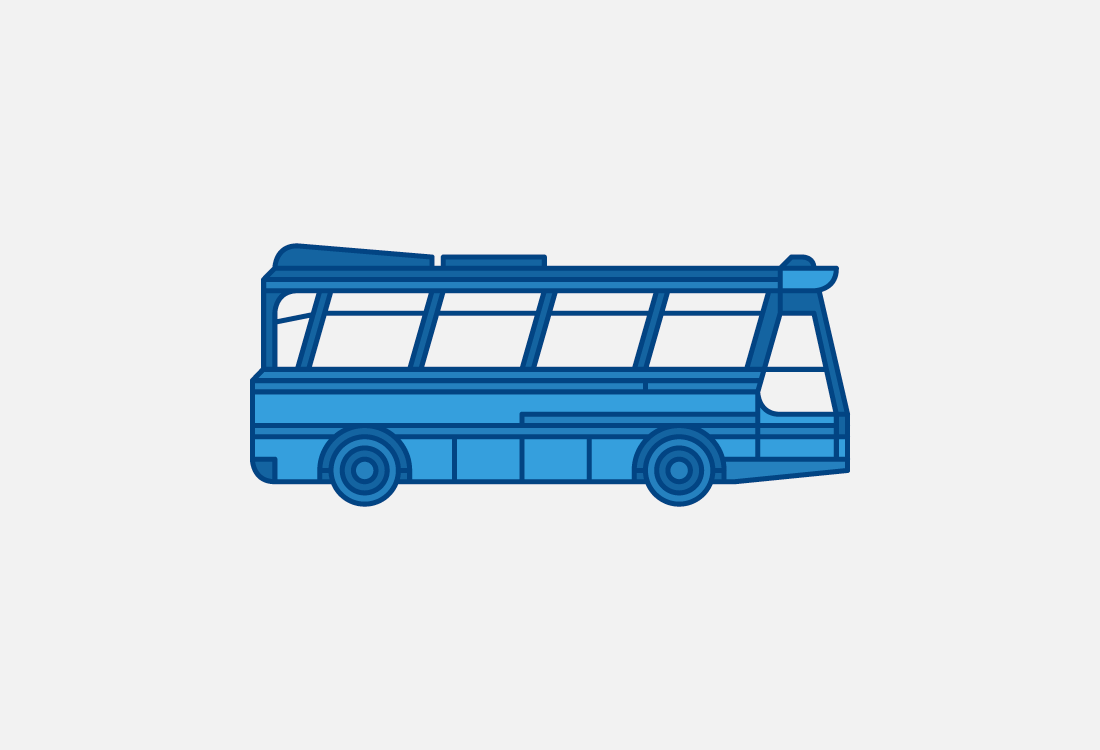 Autobús clásico Alsa