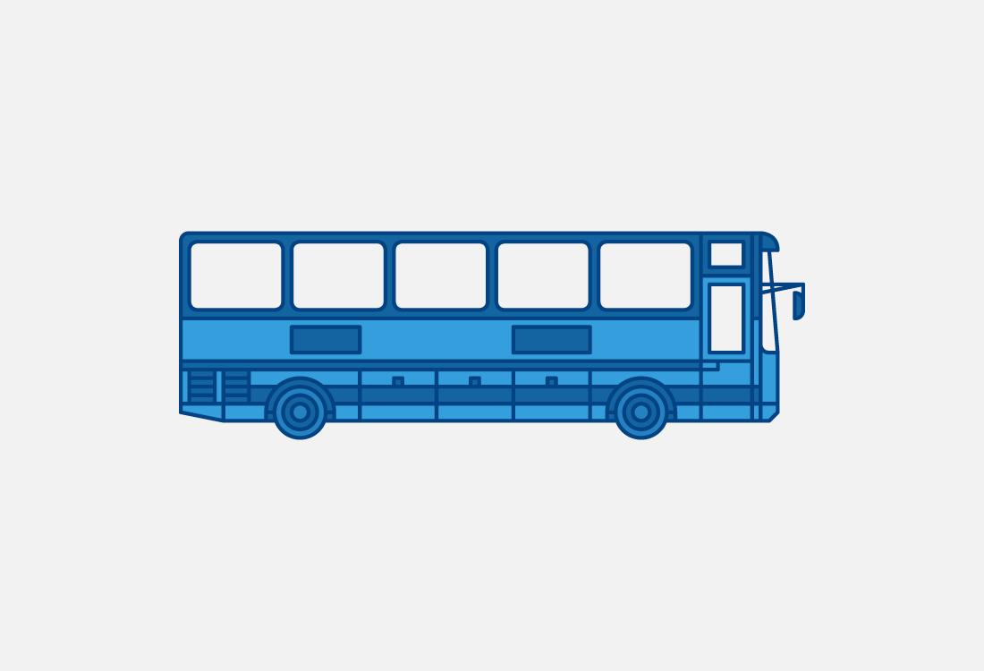 Ilustración autobus