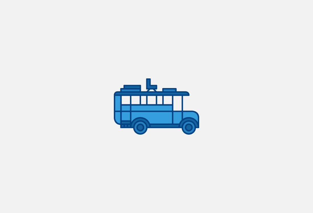 Ilustración bus